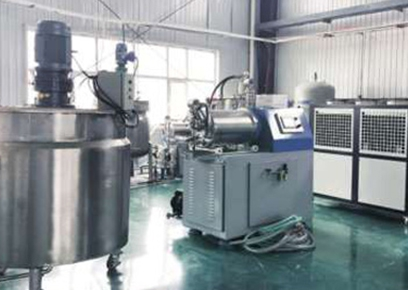 广州化工企业砂磨机案例