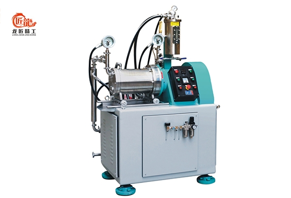 LJ-PG10偏心盘片卧式砂磨机
